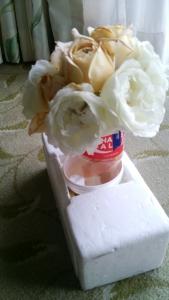 機内持ち込み用簡易花瓶