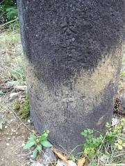 鳥居の銘文