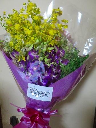 151207 お誕生日の花束