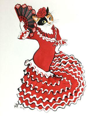 flamencas 北田浩子個展