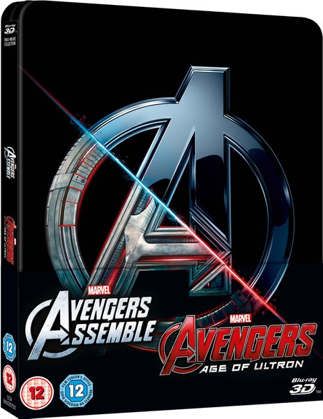 Avengers Double Pack steelbook