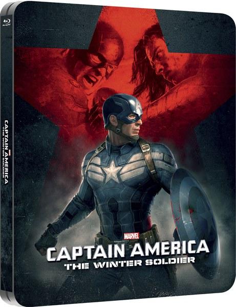 キャプテン・アメリカ/ウィンター・ソルジャー スチールブック