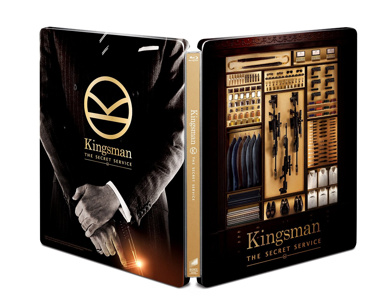 キングスマン スチールブック