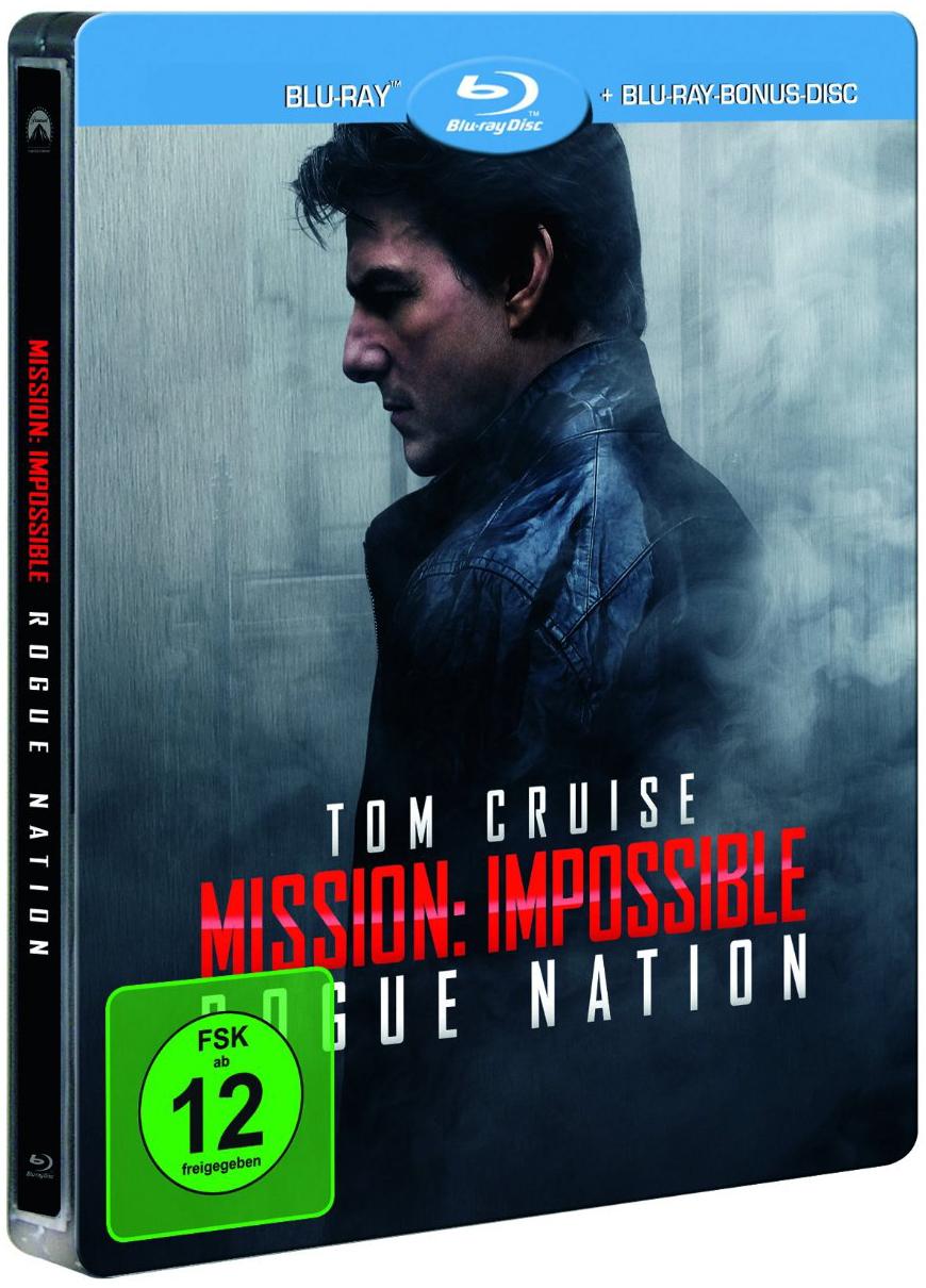 ミッション:インポッシブル/ローグ・ネイション スチールブック