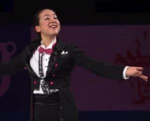 ジャパンオープンでお披露目「素敵なあなた」