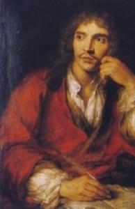 モリエール肖像画
