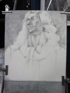 モリエール胸像