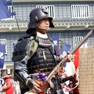 岡山城 鉄砲隊