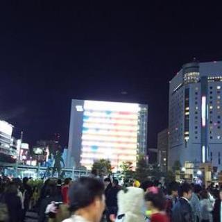 岡山駅前 ハロウィン 1031 03
