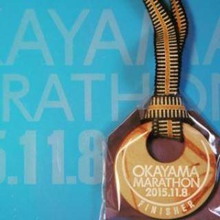 おかやまマラソン メダル