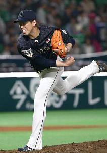 【広島】プレミア12強化試合・前田健太が圧巻の投球3回8K無失点
