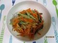 水菜のサラダ8