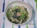 コマツナとモヤシのサラダ1