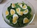 つまみ菜と卵のシーザーサラダ3