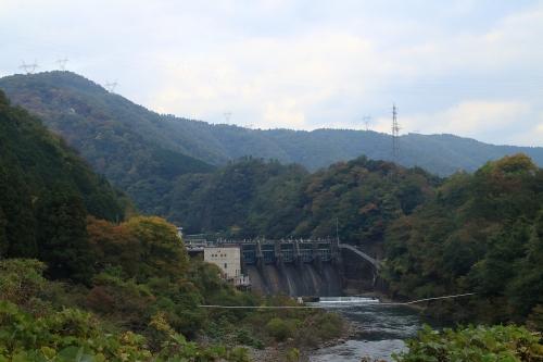 揖斐川川上り 西平ダム