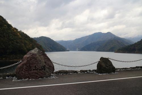 揖斐川川上り 徳山湖