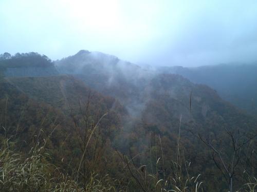 揖斐川川上り 林道冠山線