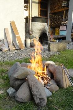 201510 とうとうたき火炉を作ってしまった