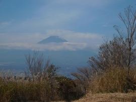 20151110山頂富士山