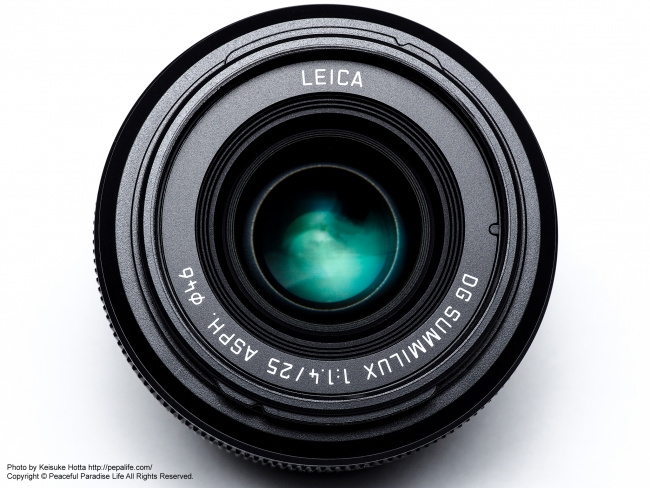 LEICA DG SUMMILUX 25mm F1.4 ASPH.