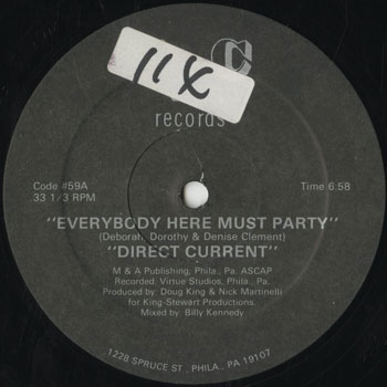 DG_DIRECT CURRENT_EVERYBODY HERE MUST PARTY_201509