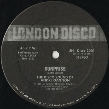 DG_DISCO SOUND OF ANDRE GAGNON_SURPRISE_201509