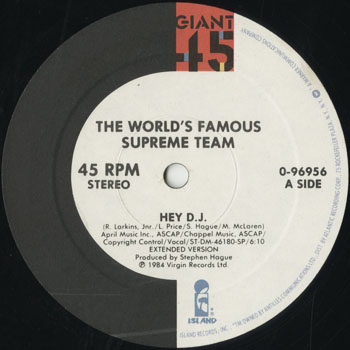 HH_WORLDS FAMOUS SUPREME TEAM_HEY DJ_201510