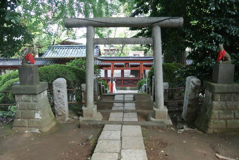 根津神社稲荷1