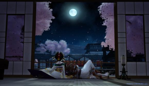 月夜の逢瀬