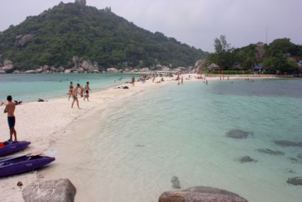 2015Nang Yuan Isビーチ