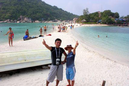 2015Nang Yuan Isビーチふたり
