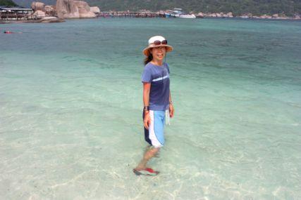 2015Nang Yuan Isビーチmaki