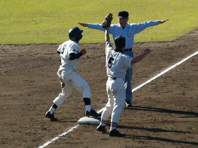 【野球ネタ】1、3塁からの盗塁を阻止する方法