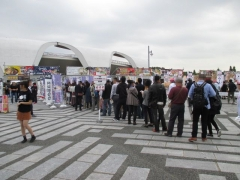 東京ラーメンショー2015 第1幕 ~ラーメンウーマンコラボ「海老まるごとワンタン麺」~-6