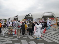 東京ラーメンショー2015 第1幕 ~ラーメンウーマンコラボ「海老まるごとワンタン麺」~-7