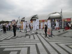 東京ラーメンショー2015 第1幕 ~ラーメンウーマンコラボ「海老まるごとワンタン麺」~-8