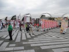 東京ラーメンショー2015 第1幕 ~ラーメンウーマンコラボ「海老まるごとワンタン麺」~-9