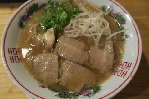 地鶏食堂(鶏スープラーメン)