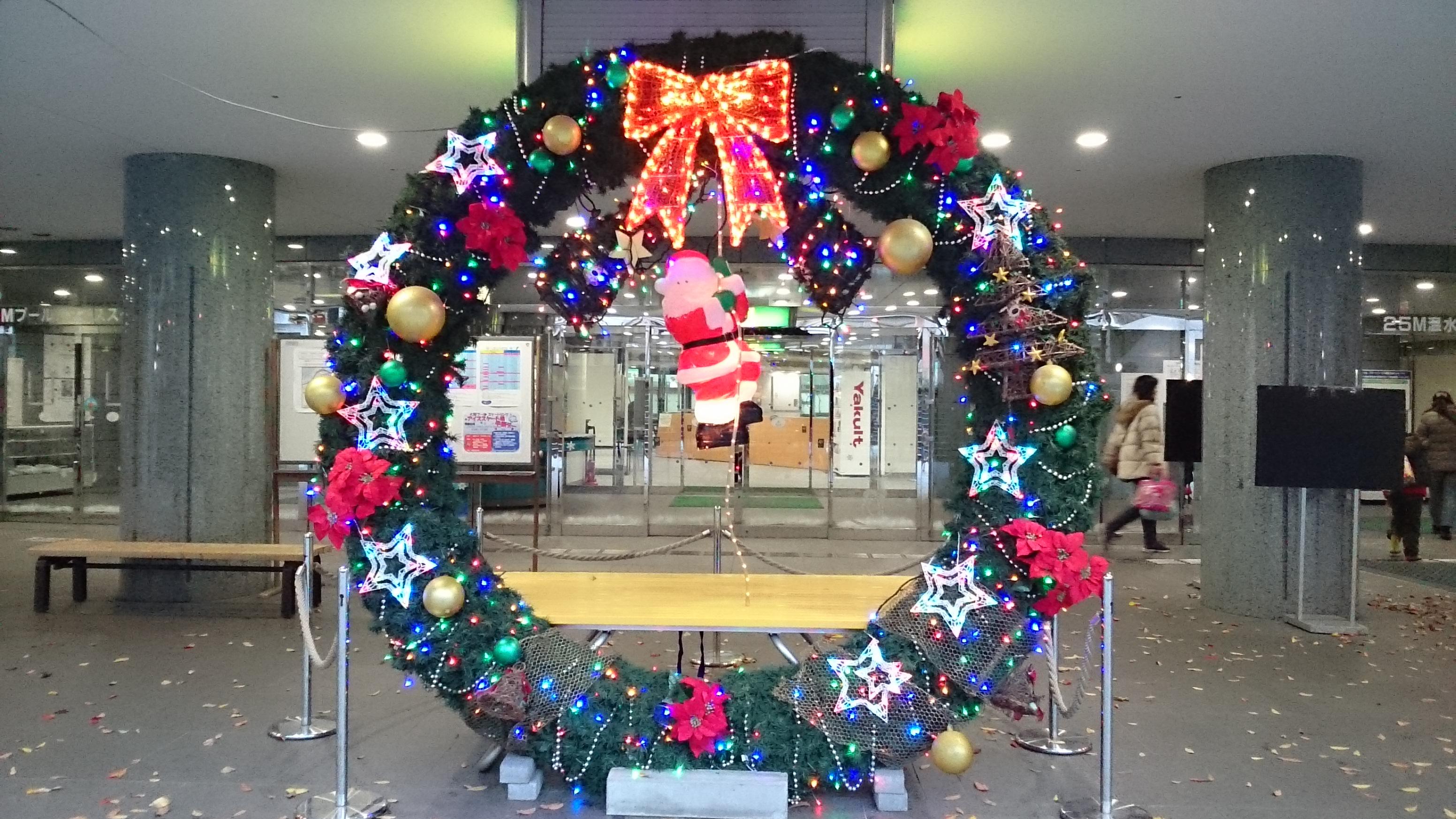 大阪プールの玄関