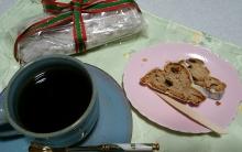 ティータイム/コーヒーとシュトーレン