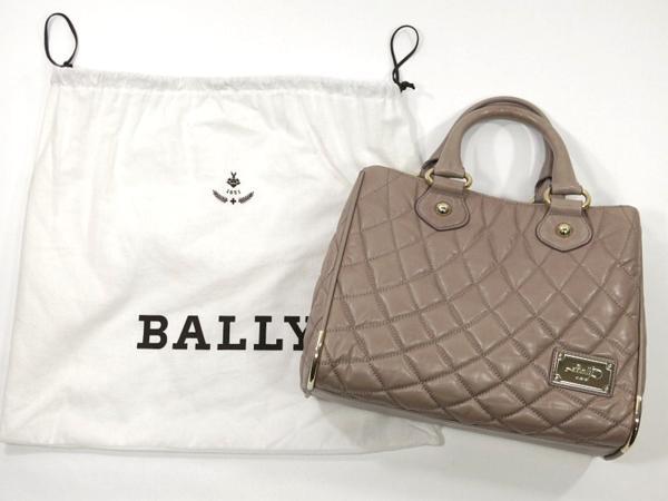 BALLY 2way レザー ハンドバッグ