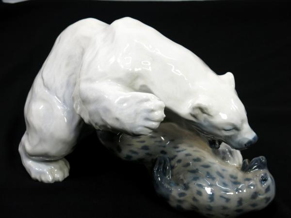 ロヤルコペンハーゲン 白熊 フィギリン