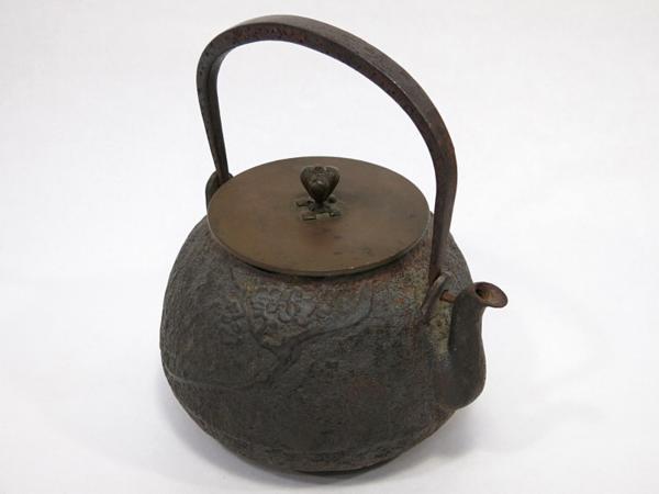 龍文堂造 鉄瓶 古美術 茶道具