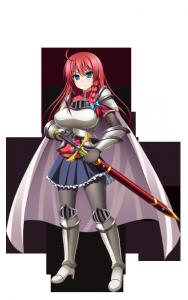 アリーシャ 騎士鎧 ノーマル