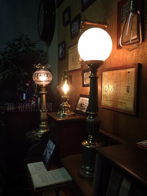コロニアル テーブルランプ アンティーク ヴィクトリアン ガラス 卓上 ライト 照明