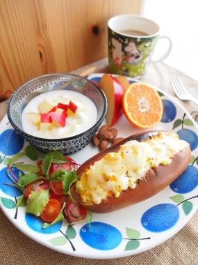 egg&cheese dog