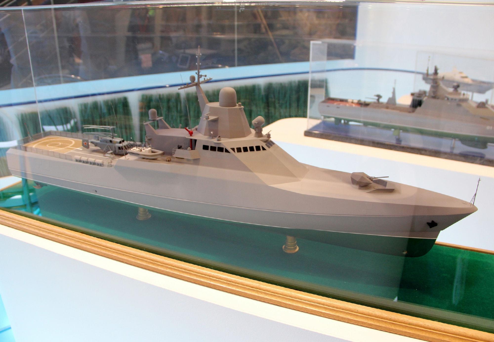 ロシア海軍の為のプロジェクト22...