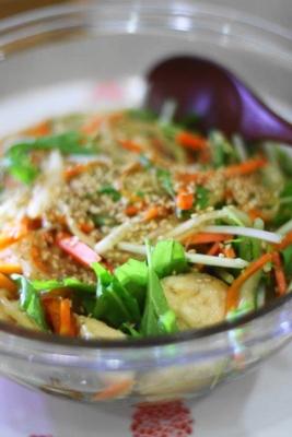 たっぷり野菜と鶏胸肉の南蛮漬け