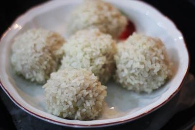たっぷり玉ねぎのもち米シュウマイ9