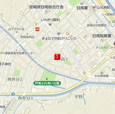 戸高3地図